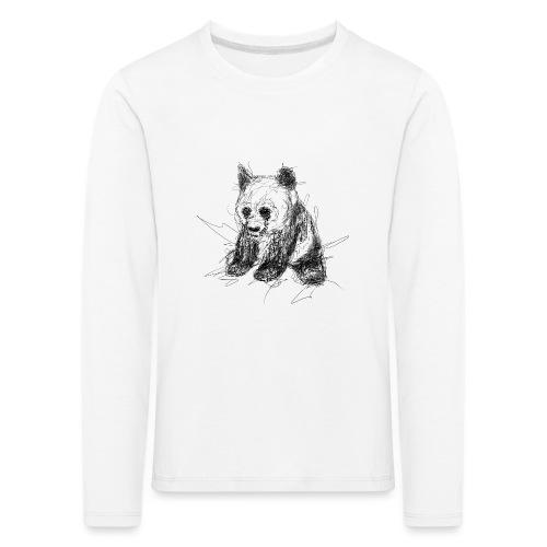 Scribblepanda - Kids' Premium Longsleeve Shirt