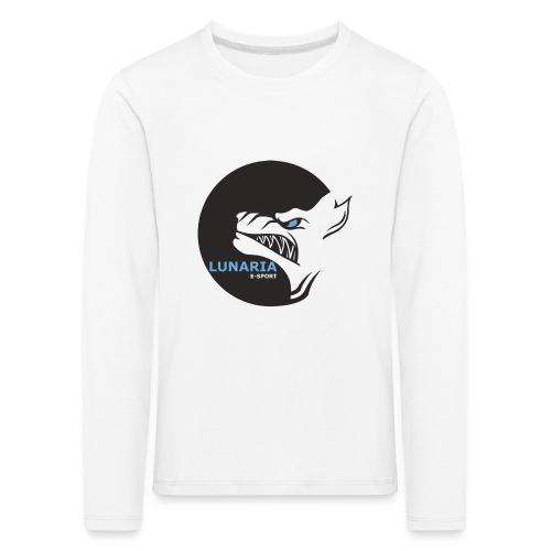 Lunaria_Logo tete pleine - T-shirt manches longues Premium Enfant