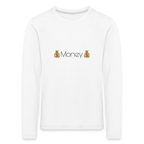 Design Money - T-shirt manches longues Premium Enfant