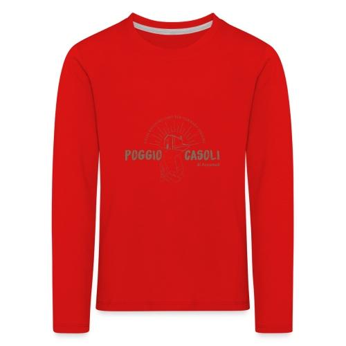 Poggio Casoli_Istituzionale - Maglietta Premium a manica lunga per bambini