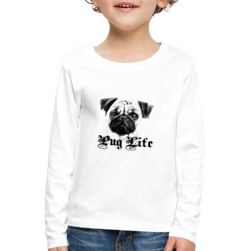 La vie de carlin - T-shirt manches longues Premium Enfant