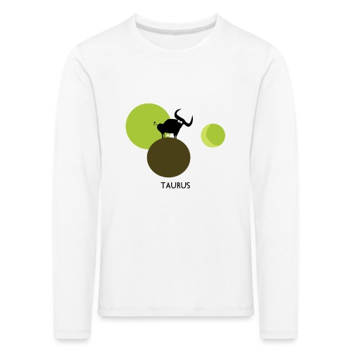 Unconventional zodiac :taurus - Maglietta Premium a manica lunga per bambini