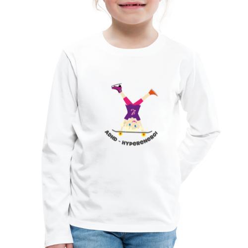 HyperShirt 3 Adhd - Hyperfokus - Långärmad premium-T-shirt barn