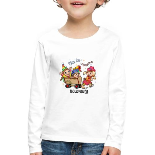 Bolderker - Kinderen Premium shirt met lange mouwen