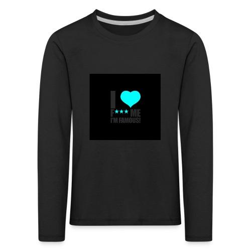 I Love FMIF Badge - T-shirt manches longues Premium Enfant