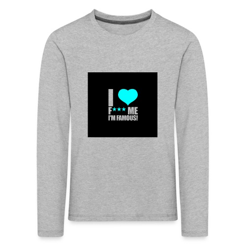 I Love FMIF Badge - T-shirt manches longues Premium Enfant