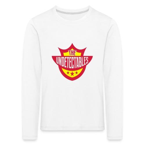 Undetectables voorkant - Kinderen Premium shirt met lange mouwen