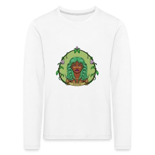 Mother Nature - Camiseta de manga larga premium niño