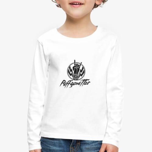 Riffgewitter - Hard Rock und Heavy Metal - Kinder Premium Langarmshirt