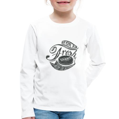 Fresh start - Kinder Premium Langarmshirt