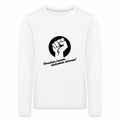 Vorwärts immer rückwärts nimmer - Kids' Premium Longsleeve Shirt