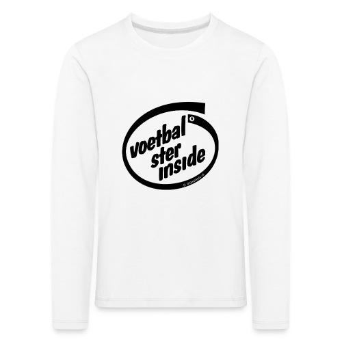 Inside voetbal - Kinderen Premium shirt met lange mouwen