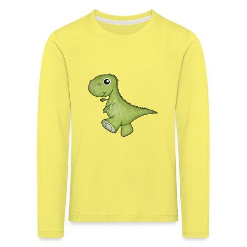 Dino - Kinder Premium Langarmshirt