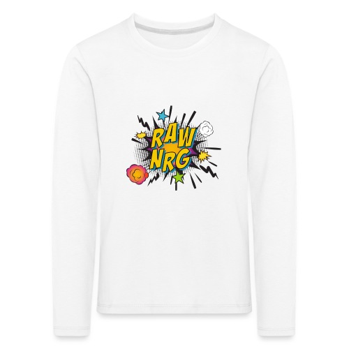 Raw Nrg comic 1 - Kids' Premium Longsleeve Shirt