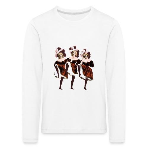 Vintage Dancers - Kids' Premium Longsleeve Shirt