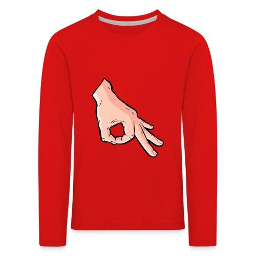 The Circle Game Ok Emoji Meme - Kids' Premium Longsleeve Shirt