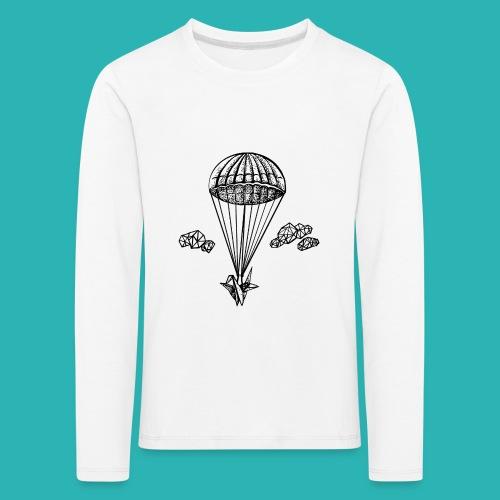 Veleggiare_o_precipitare-png - Maglietta Premium a manica lunga per bambini