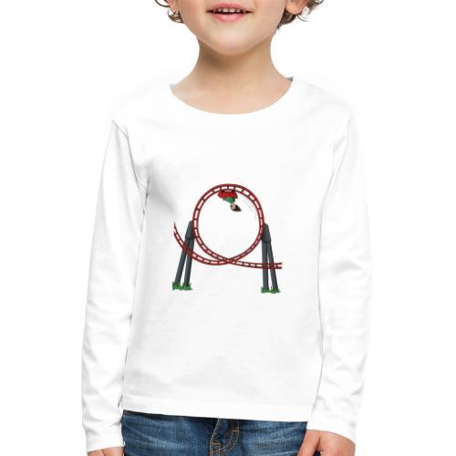 Davincstyle Looping - Kinderen Premium shirt met lange mouwen