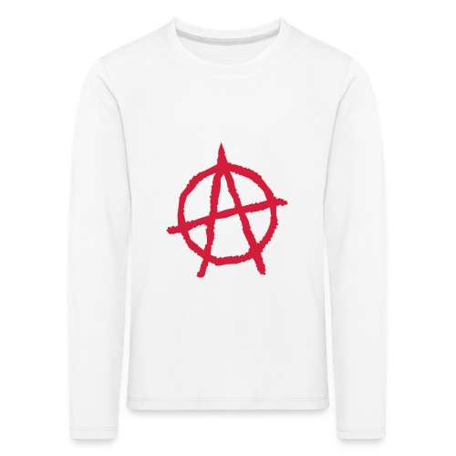 Anarchy Symbol - Kids' Premium Longsleeve Shirt