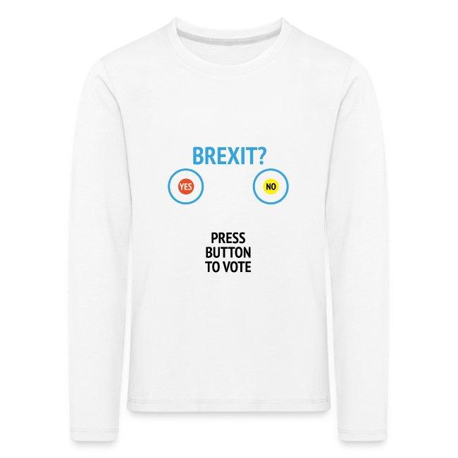 Brexit: Press Button To Vote