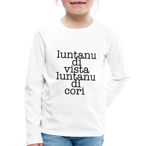 P3 - Maglietta Premium a manica lunga per bambini