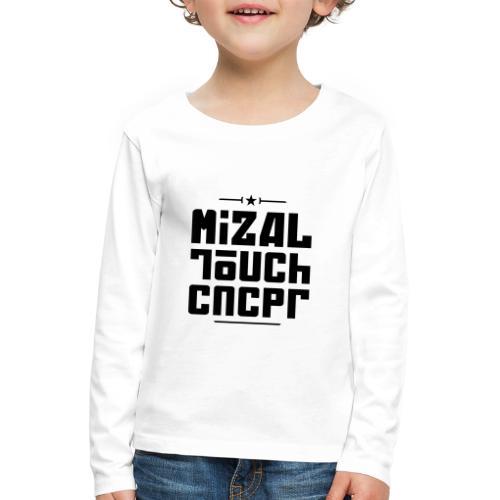 Logo MiZAL Touch Concept - Koszulka dziecięca Premium z długim rękawem