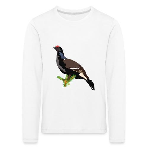Birkhuhn - Kinder Premium Langarmshirt