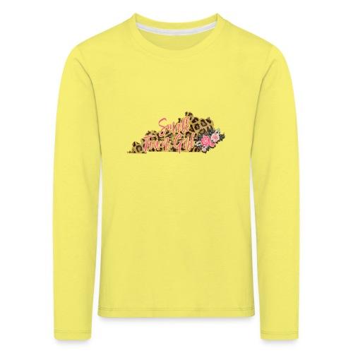 Small Town Girl Kentucky - Kids' Premium Longsleeve Shirt