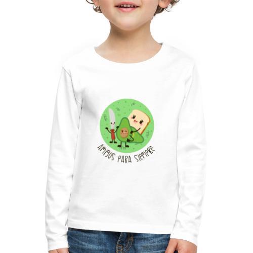 Amigos para siempre - Camiseta de manga larga premium niño