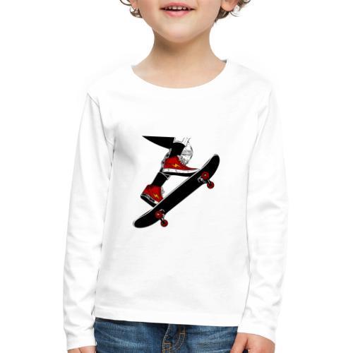 Skating - Maglietta Premium a manica lunga per bambini