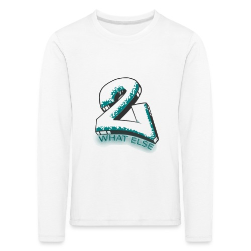 77 what else - Kinder Premium Langarmshirt