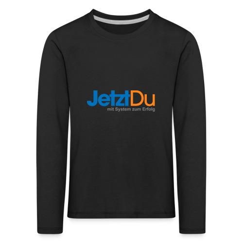 JetztDuLogo ArtWork1 - Kinder Premium Langarmshirt