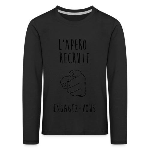 L'Apéro Recrute, Engagez-vous - T-shirt manches longues Premium Enfant