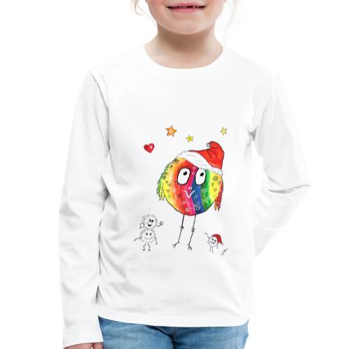 Happy Weihnachtskugelbird - Kinder Premium Langarmshirt