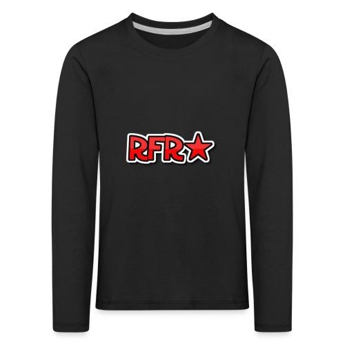 rfr logo - Lasten premium pitkähihainen t-paita