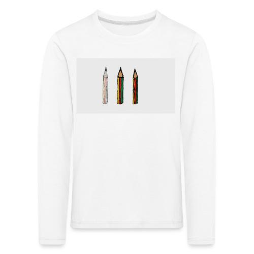 pencil - Maglietta Premium a manica lunga per bambini