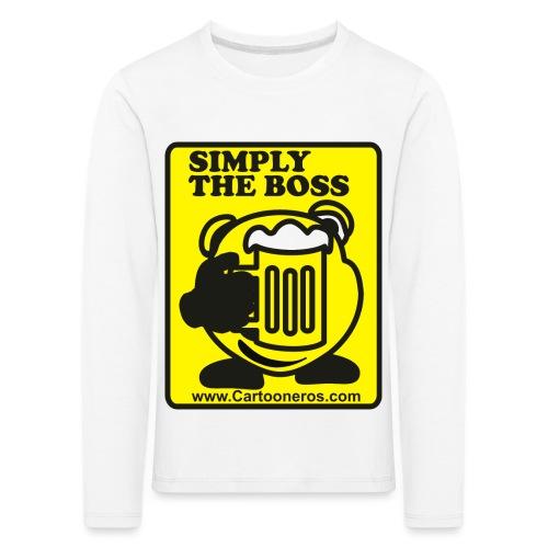 Simply the Boss - Kids' Premium Longsleeve Shirt