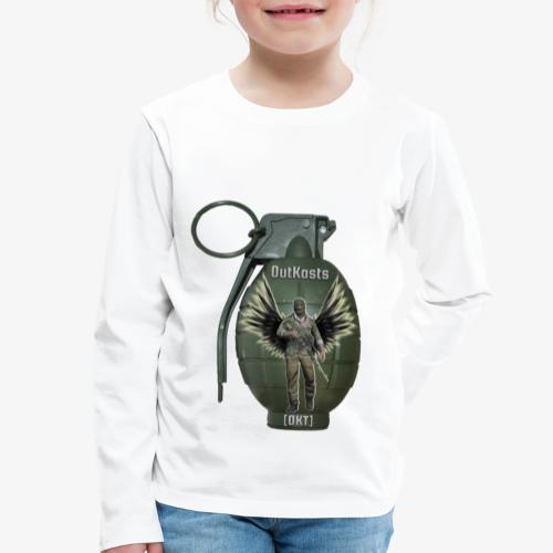 grenadearma3 png - Kids' Premium Longsleeve Shirt