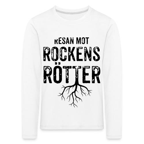 Nallebjörn, Rockens rötter - Långärmad premium-T-shirt barn