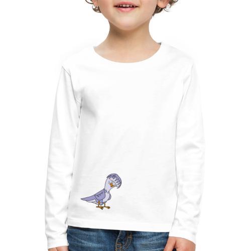 Taube von dodocomics - Kinder Premium Langarmshirt