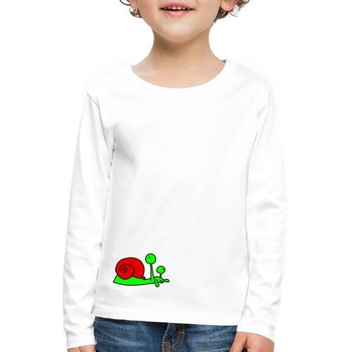 Schnecke Nr 207 von dodocomics - Kinder Premium Langarmshirt
