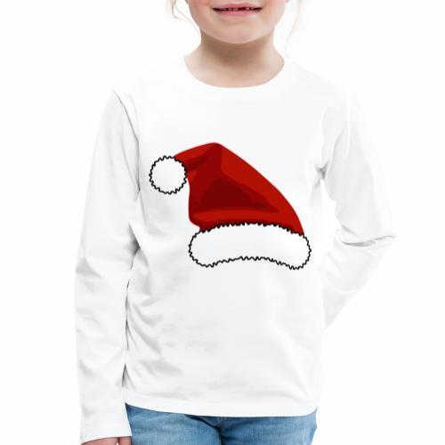 Joulutontun lakki - tuoteperhe - Lasten premium pitkähihainen t-paita