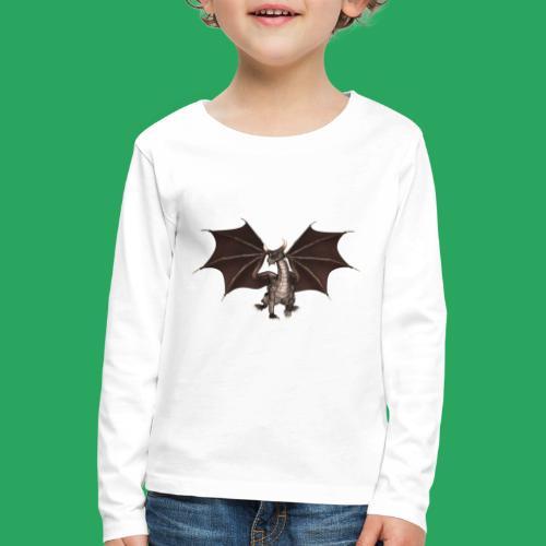 dragon logo color - Maglietta Premium a manica lunga per bambini