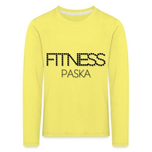 FITNESS PASKA - Lasten premium pitkähihainen t-paita