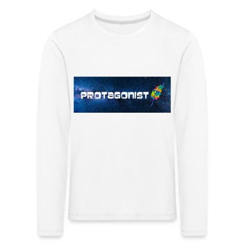 Protagonist by Schreiben-im-Flow.de - Kinder Premium Langarmshirt