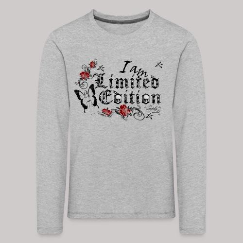 simply wild limited Edition on white - Kinder Premium Langarmshirt