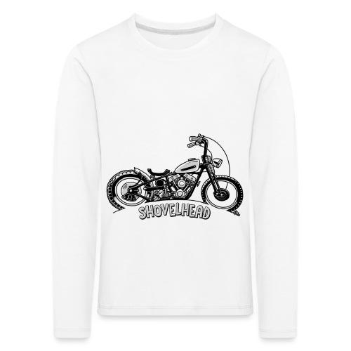 0917 chopper shovelhead - Kinderen Premium shirt met lange mouwen