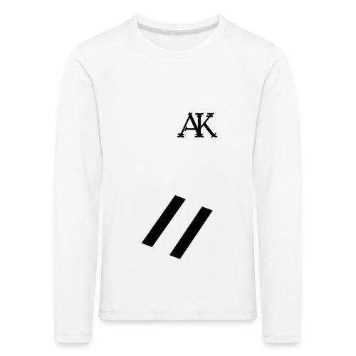 design tee - Kinderen Premium shirt met lange mouwen