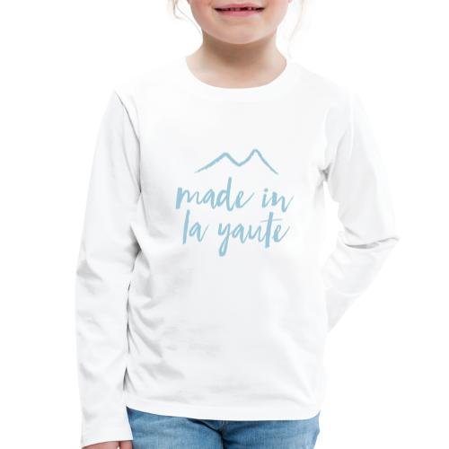 Made in la yaute - T-shirt manches longues Premium Enfant
