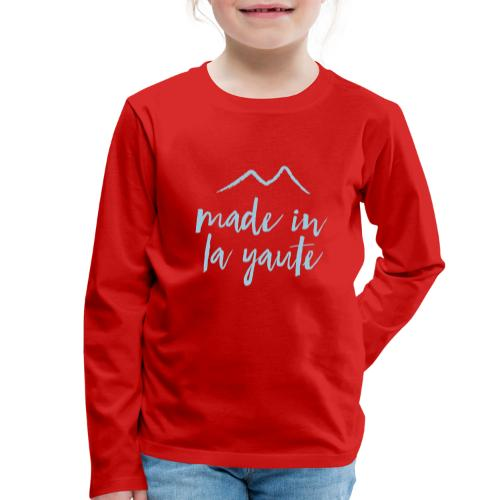 Made in la yaute - T-shirt manches longues Premium Enfant